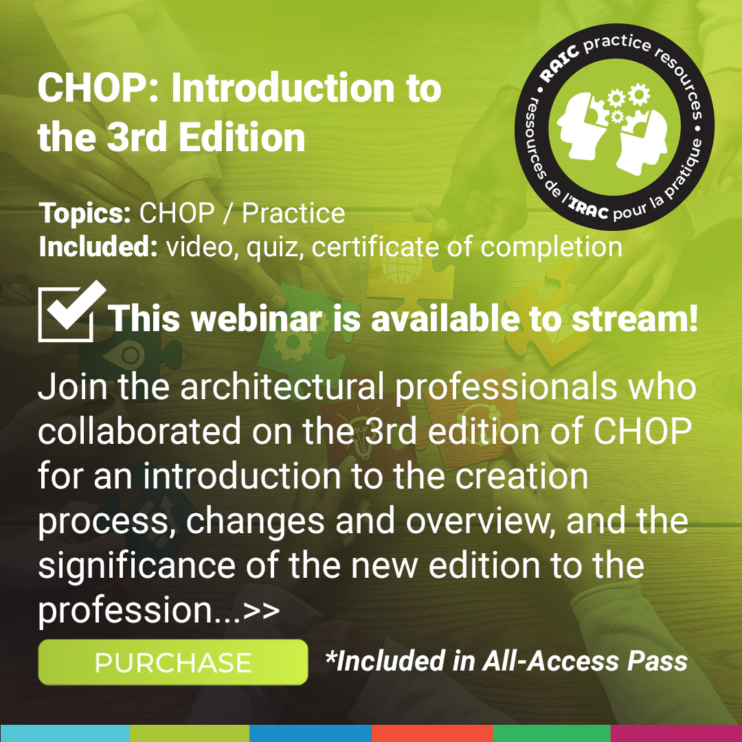 Chop: Introduction to the Third Edition Course Poster