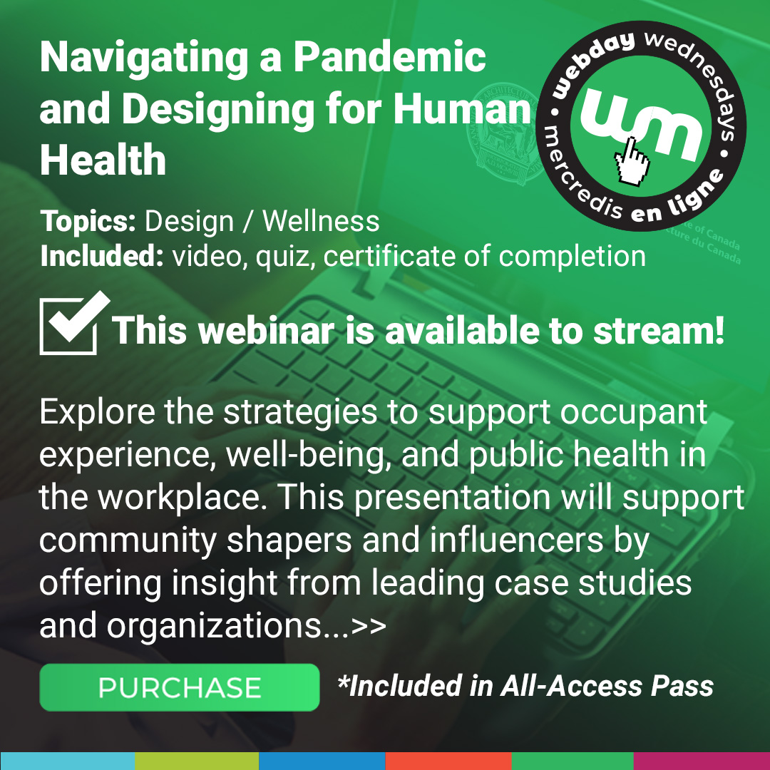 Navigating a pandemic and designing for human health Course Poster