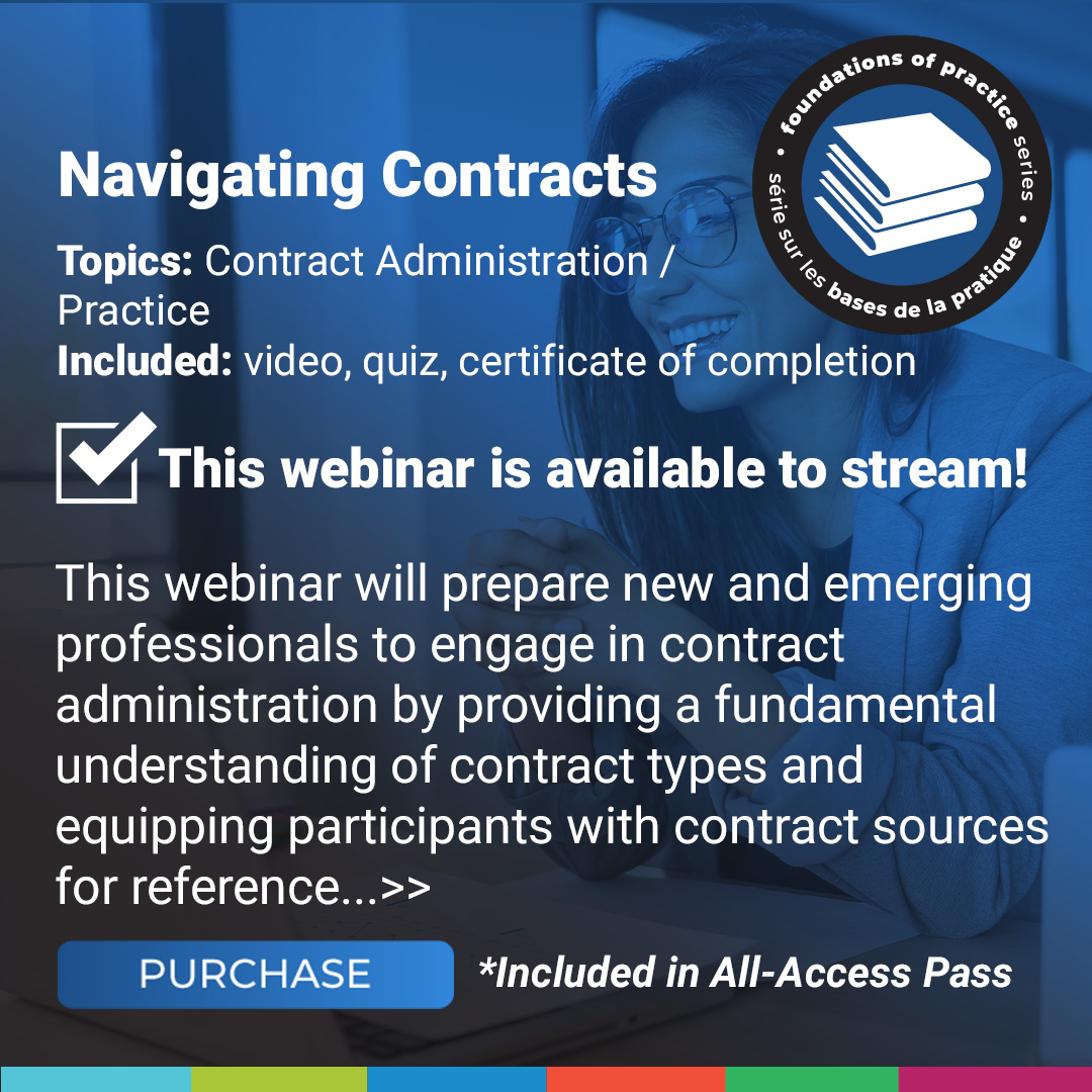 Navigating Contracts Course Poster