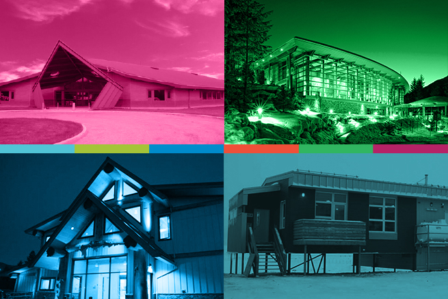 Four case studies exemplifying best practices in architectural co