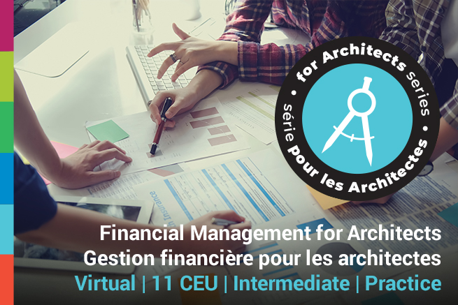 Financial Management for Architects Course Poster
