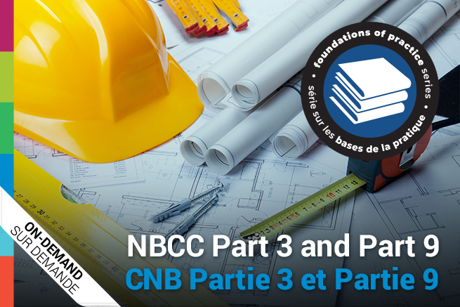 NBCC Part 3 and Part 9 Webinar Poster