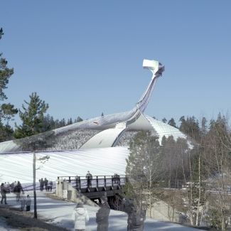 New Holmenkollbakken Ski Jump Competition (Oslo, Norway) | design: Atelier3AM w/ Jason King Associates
