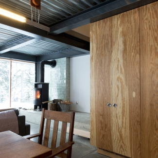 Lac Le Jeune Cabin / Photo: Scott & Scott Architects