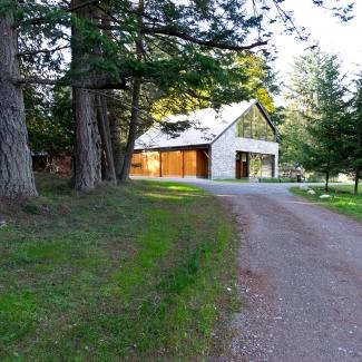 Grange sur l'île Pender / Photo : Scott & Scott Architects