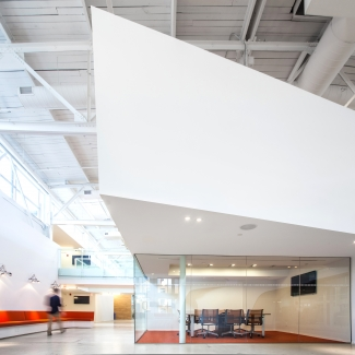 Cossette Offices - View of Internal Street (in joint venture with Teeple Architects Inc.)