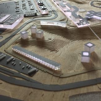 Modèle du complexe Badlands Motorsports