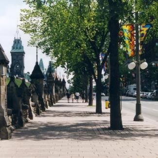 Parcours d'honneur (aujourd'hui appelé boulevard de la Confédération)