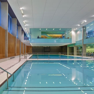 Branksome Hall Athletics & Wellness Centre Natatorium
