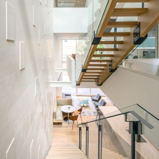 Relmar House(s) - Feature Stair and Millwork