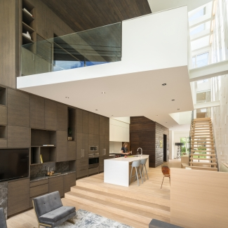 Relmar House(s) - View to Kitchen and Suspended Office