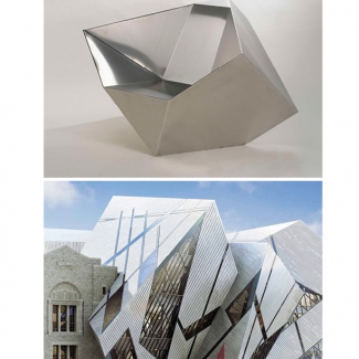 DANIEL LIEBESKIND SPIRIT CHAIR FOR THE ROYAL ONTARIO MUSEUM. 2005. FURNITURE MANUFACTURED BY NIENKAMPER.