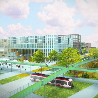 Manchester Mixed Use Rendering
