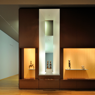 African Gallery - South Display Case