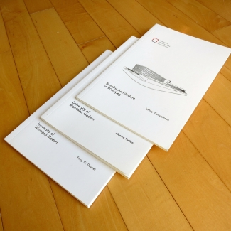 WAF architectural guidebook series