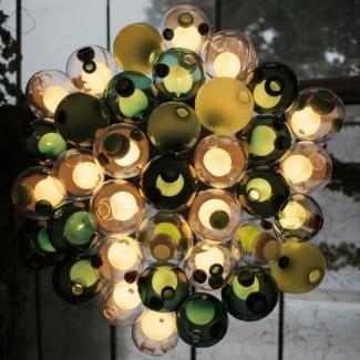 Light installation at Spazio Rosanna Orlandi Gallery, Milan, Italy. 2012