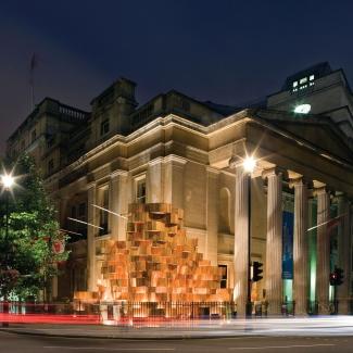 Installation à Trafalgar Square / Bing Thom Architects