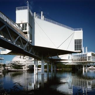 Bridge to pods.