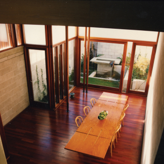 Laneway House Living Area