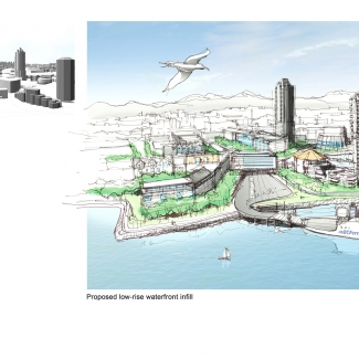 Images: Produced by D'Ambrosio architecture + urbanism and Citizen Plan in cooperation with the Nanaimo Planning Department