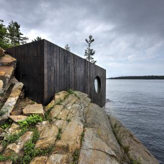 Extérieur du sauna