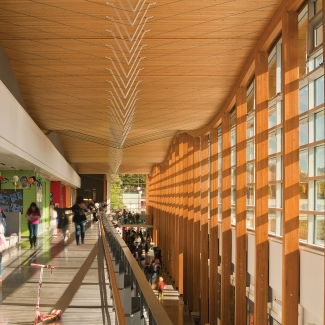 Samuel Brighouse Elementary School / Perkins+Will