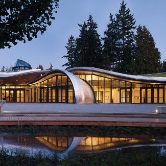 Pavillon des visiteurs du Jardin botanique VanDusen / Perkins+Will