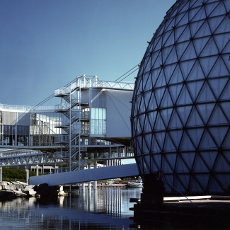 Pods and Cinesphere.