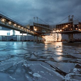 Pods & Cinesphere on ice.