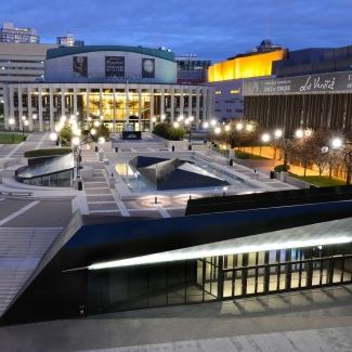 Espace culturel Georges-Émile-Lapalme - Place des arts / En consortium avec Menkès Shooner Dagenais Letourneux